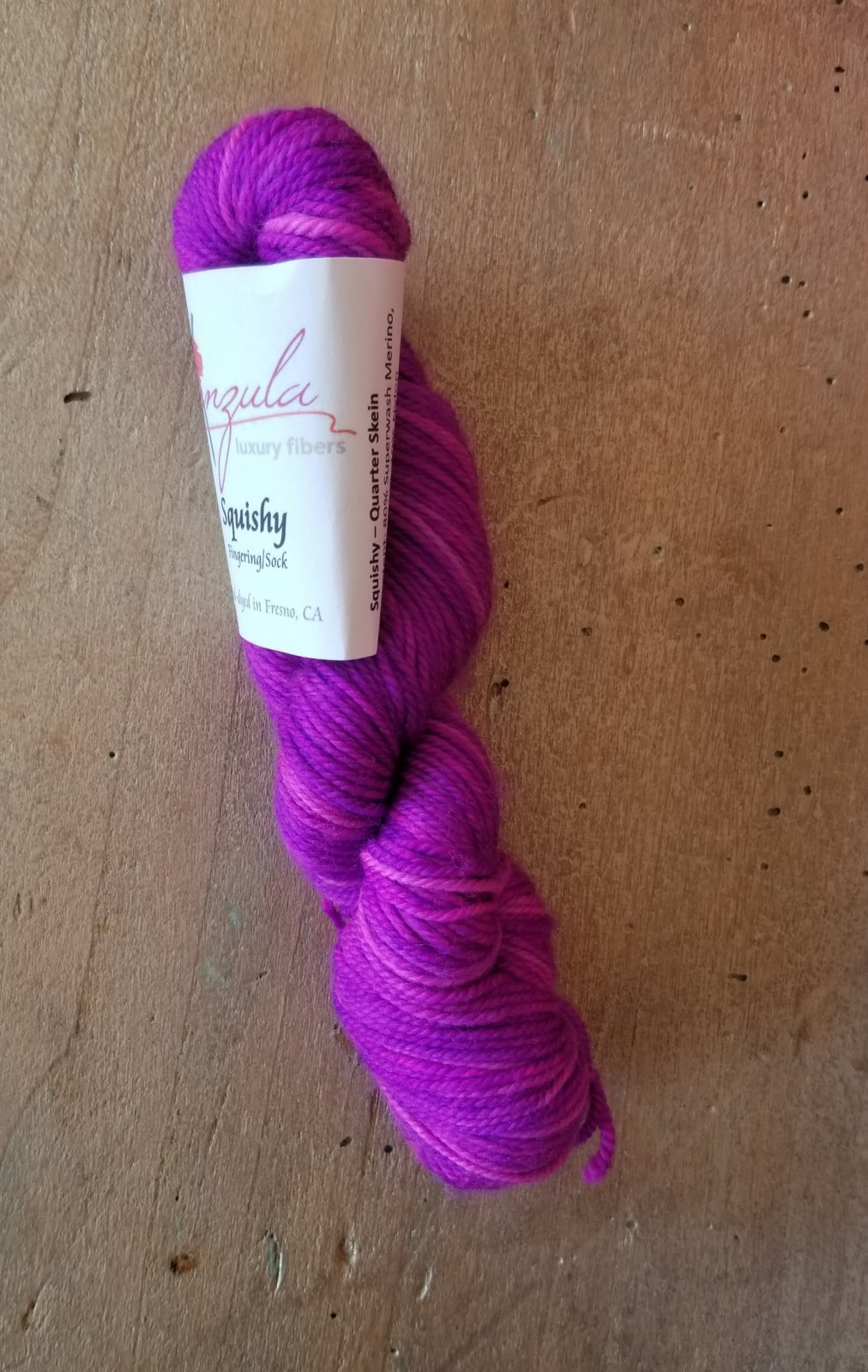Misfit Squishy 25g by Anzula Fingering/Sock Weight