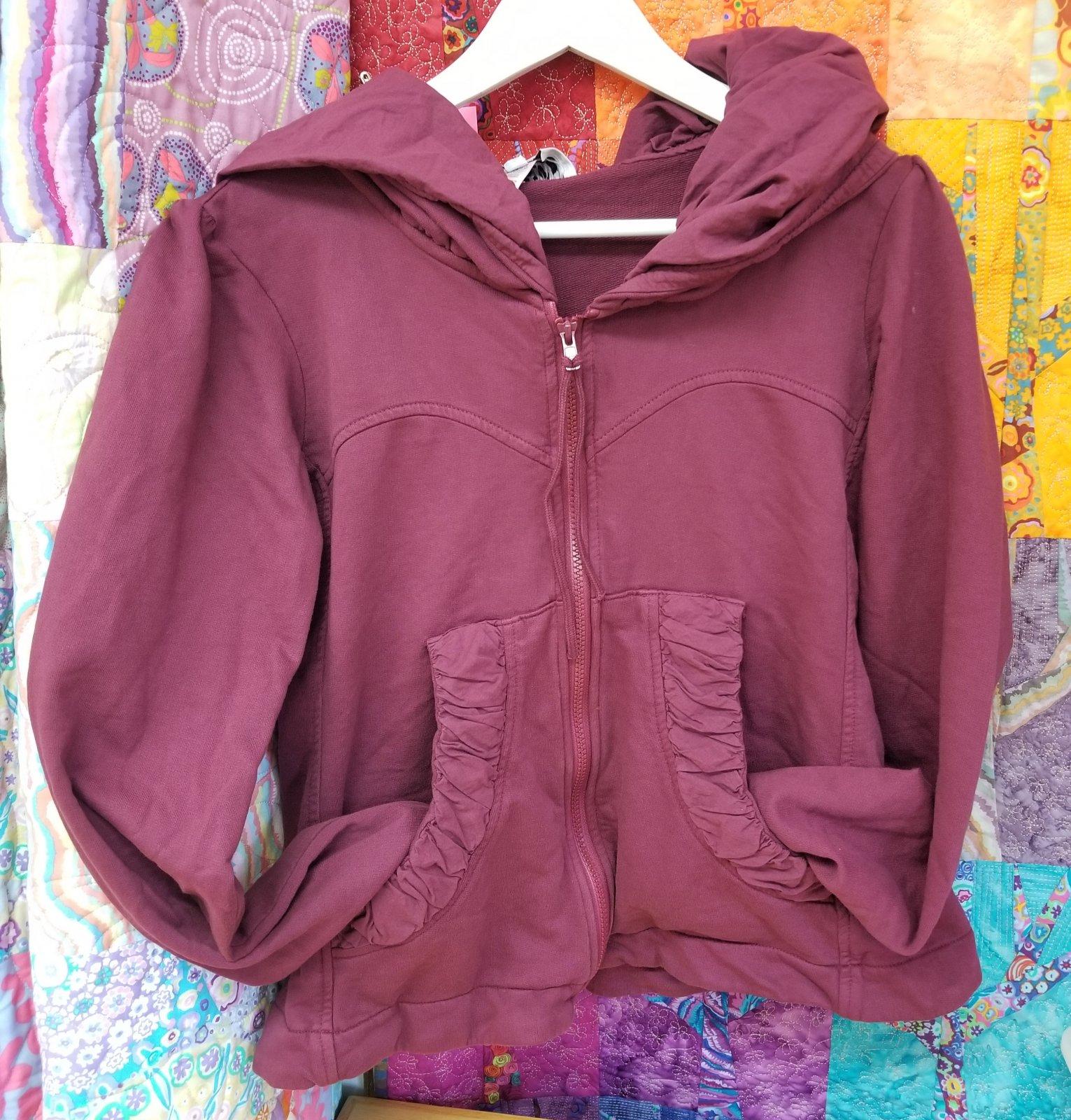 Beet Cloak Hoodie by Prairie Underground sizes Medium-Extra Large