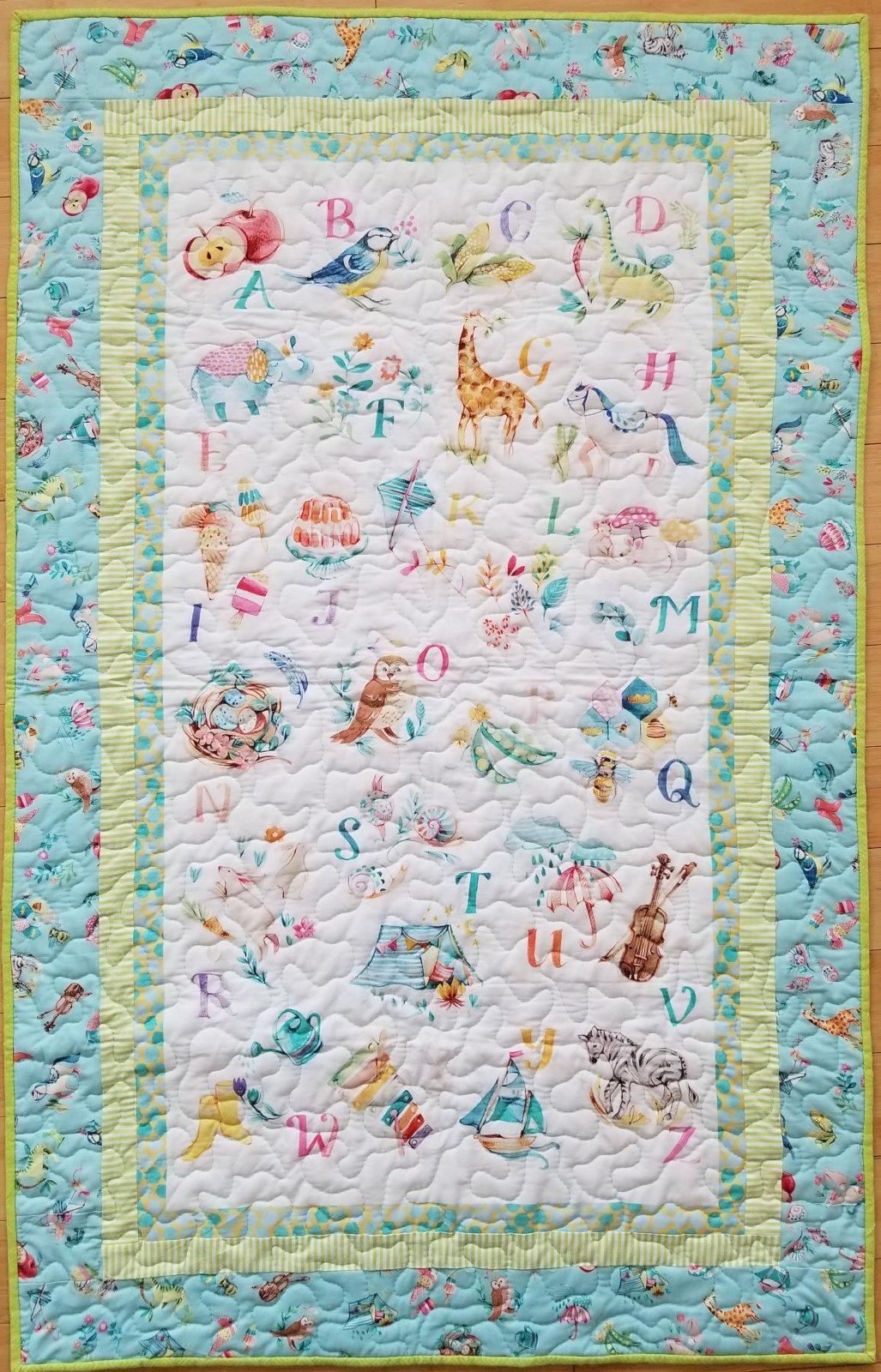 My Imagination Panel Quilt kit