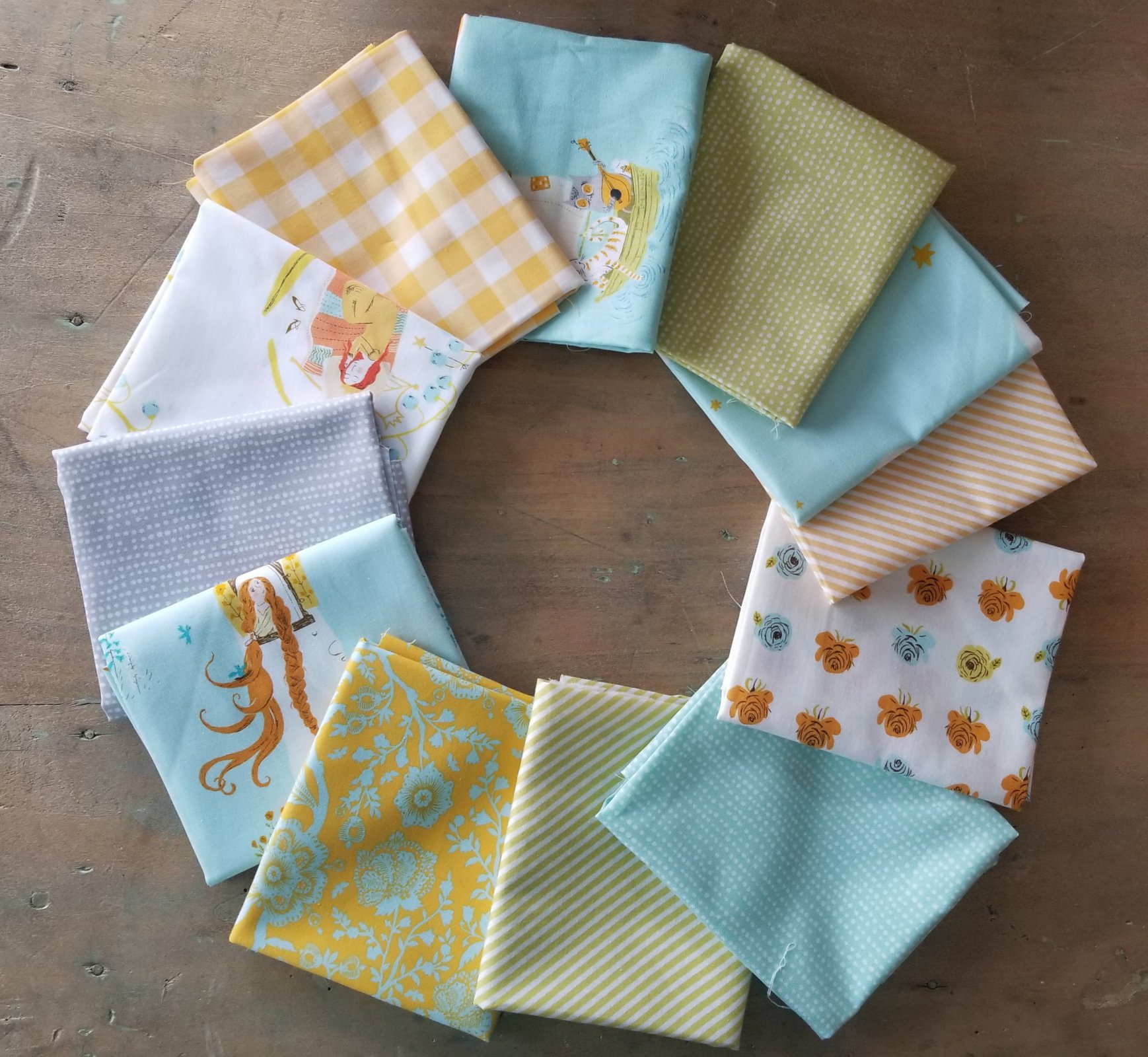 Turning Far Away 12 fat quarter bundle