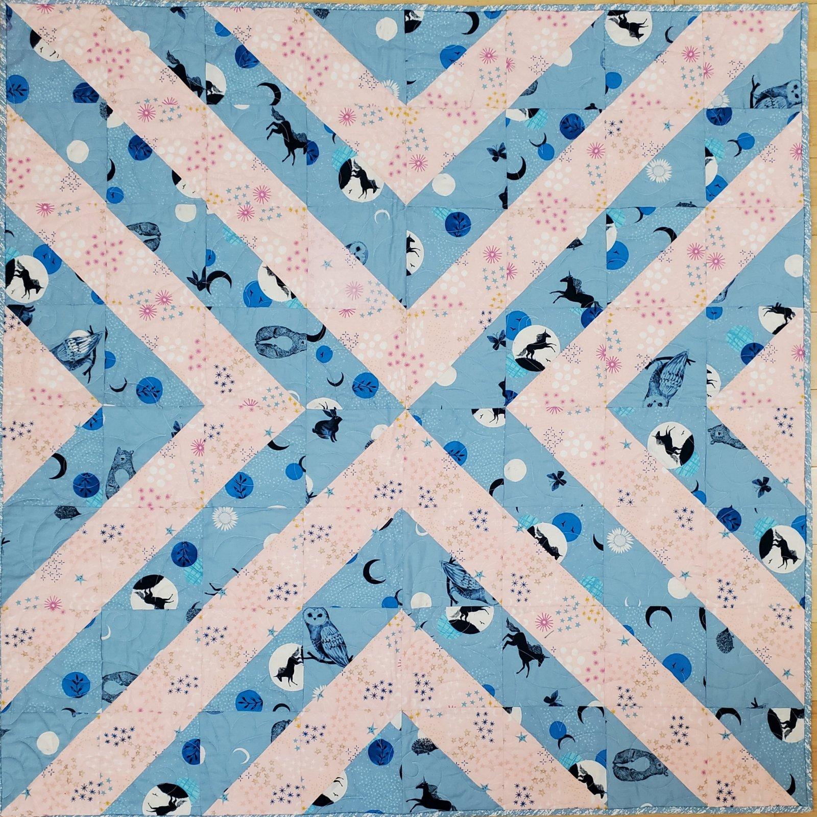 Blue Birdie quilt KIT