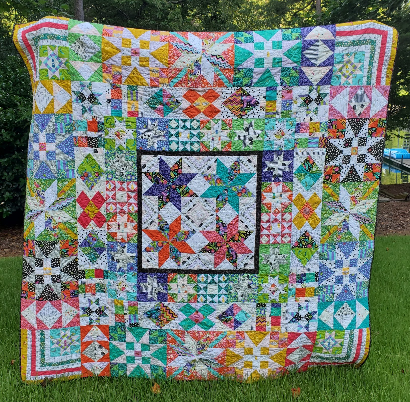 Tula Pink's Bakers Dozen quilt kit pattern sold separately