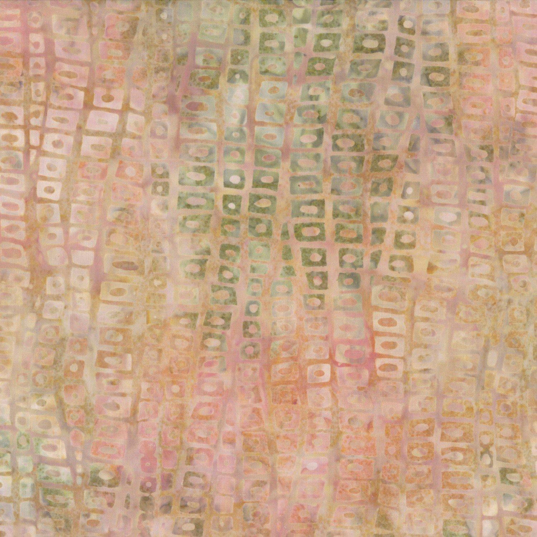 Orange Stepping Stones Batik 22139-817