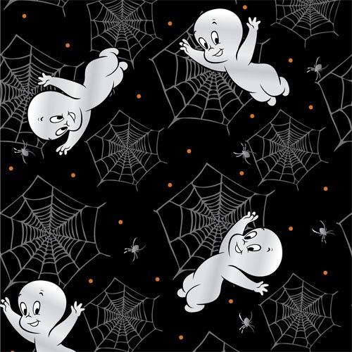 Casper and Spiderweb in Black
