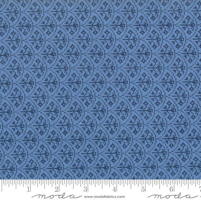 Rose Arc Dark Blue Nordic Stitches 39715-19