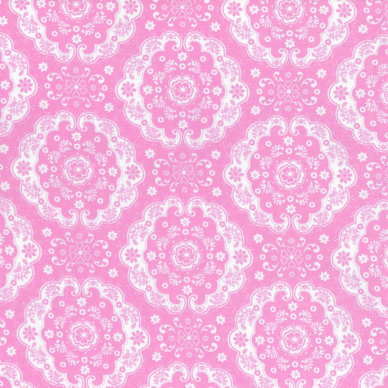 Pink Doile Double Gauze