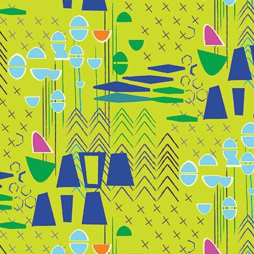Lime Modern Marks 4660-42 Modern Marks by Christa Watson