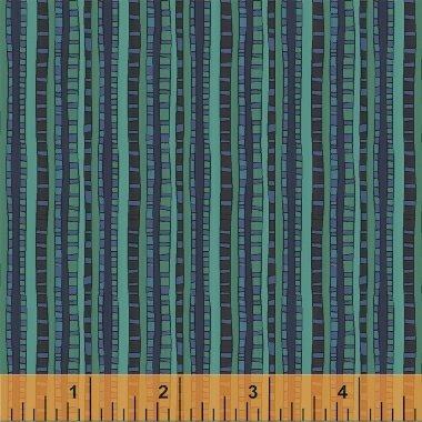 Parakeet Ladder Stripe 51293-7 Fantasy by Sally Kelly