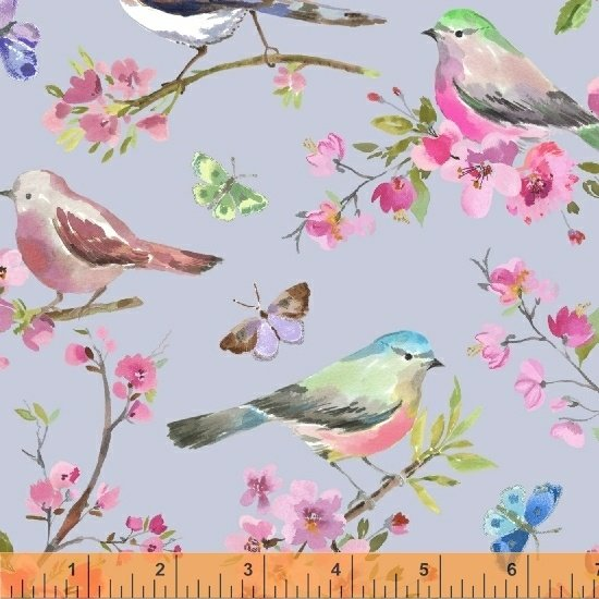 Sky Spring Birds 51620-5 Serendipity by Whistler Studios