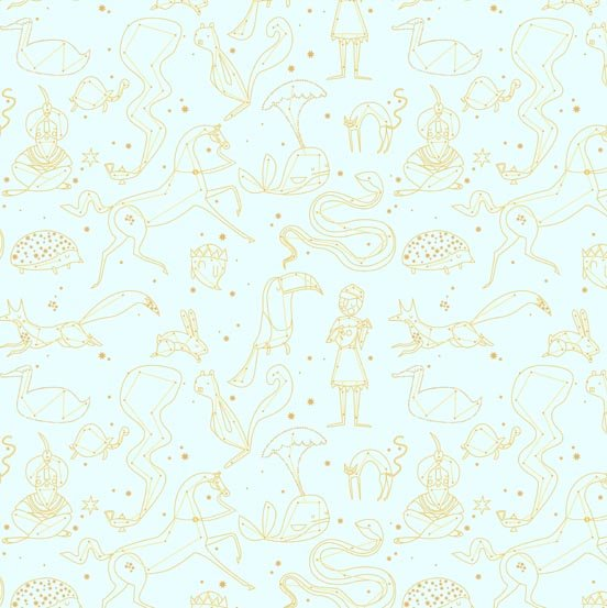 Constellation Gold Metallic
