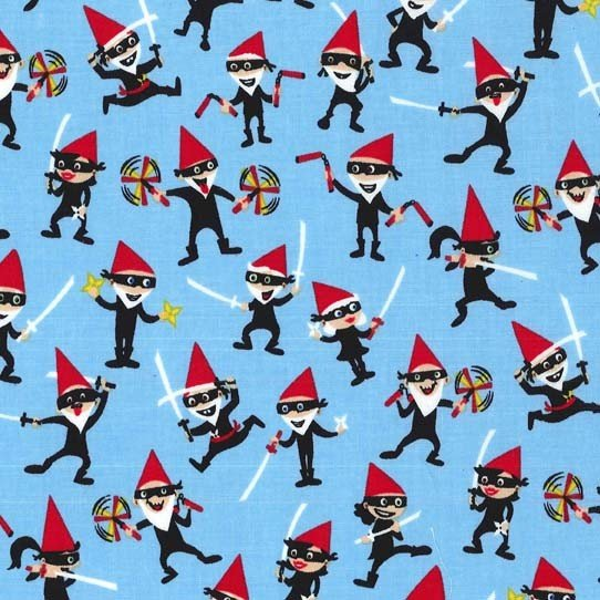 Ninja Gnomes