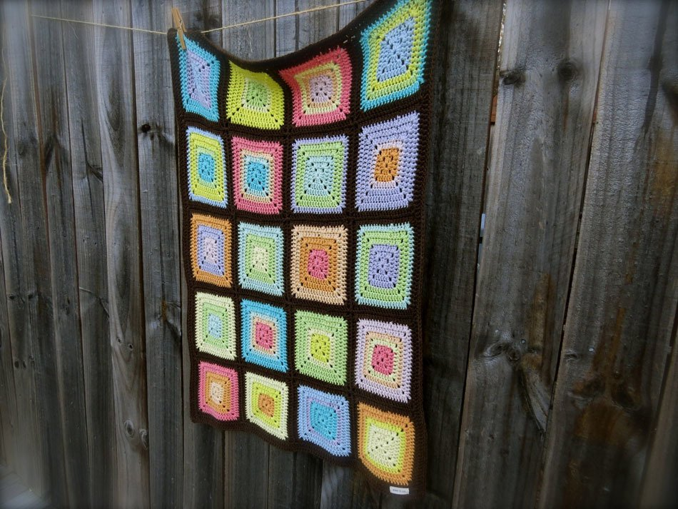 70 Sunday Afghan Crochet Pattern