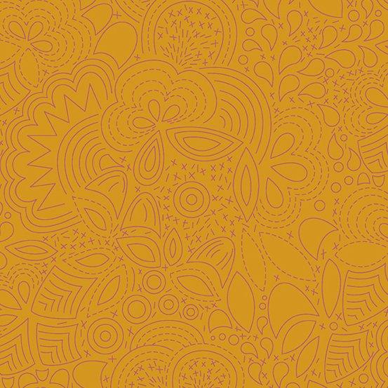 Penny Stitched A-8450-O Sunprint 2020 by Alison Glass