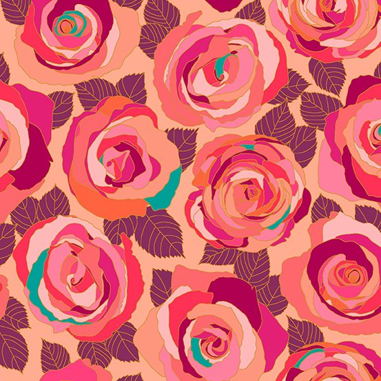 Radiance Mosaic Roses A-8880-E Mosaic by Shannon Brinkley