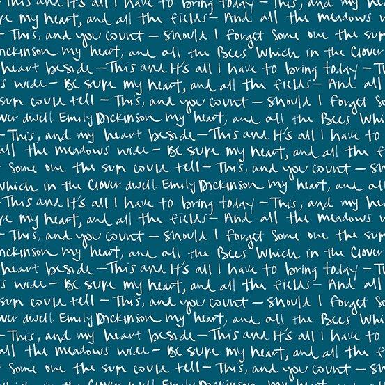 Aquamarine Emily A-8885-B Mosaic by Shannon Brinkley