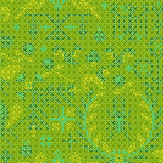 Lichen Menagerie A-9387-G Sunprint 2020 by Alison Glass