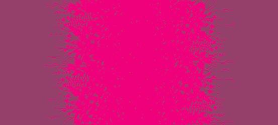 Magenta Silhouette LAWN AL-8579-R Alison Glass Adorn Lawn