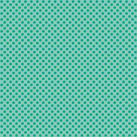 Teal Polka Dot TP-1811-T