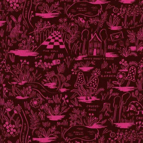 Magic Forest Ruby RAYON Rifle Paper Co.