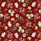 Joy Luck Floral Red