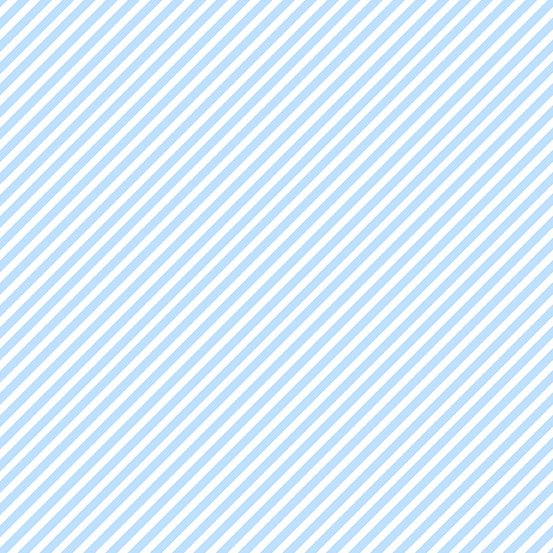 Baby Blue Candy Stripe A-9236-B Sweet Shoppe by Andover Fabrics
