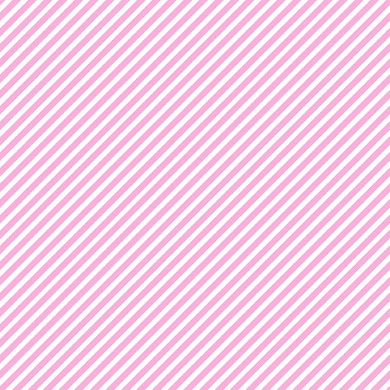 Unicorn Pink Candy Stripe A-9236-E1 Sweet Shoppe by Andover Fabrics