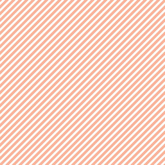 Peach Melba Candy Stripe A-9236-O Sweet Shoppe by Andover Fabrics