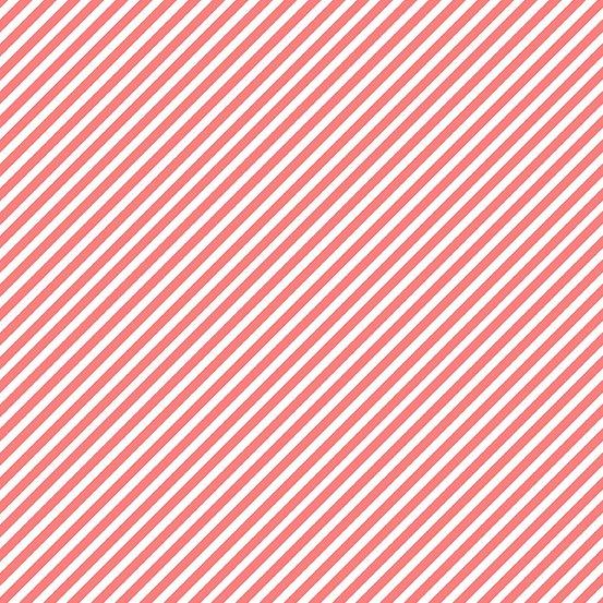 Grapefruit Candy Stripe A-9236-O1 Sweet Shoppe by Andover Fabrics
