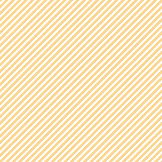 Cantaloupe Candy Stripe A-9236-Y1 Sweet Shoppe by Andover Fabrics