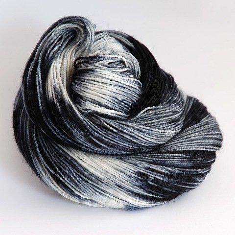 BFL Sock Grey Tabby