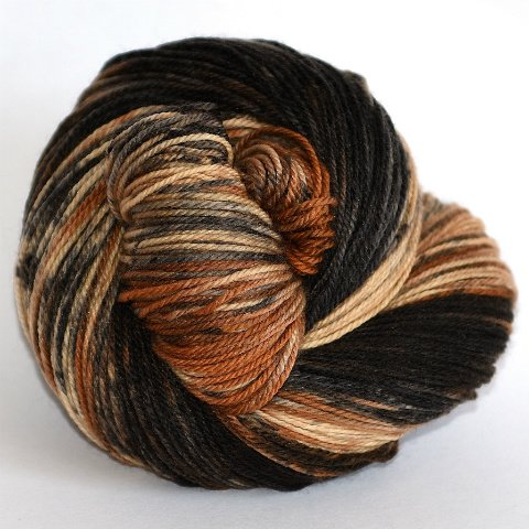BFL Sock Brindle Dog