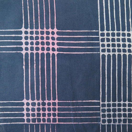 Shadow Plaid Alison Glass Chroma Handcrafted Batik AB-8132-C