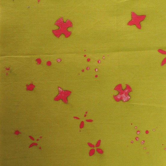 Moss Scatter Alison Glass Chroma Handcrafted Batik AB-8133-V1