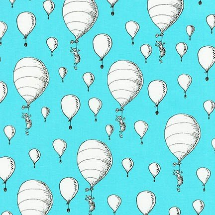 Aqua Balloons ADE-18389-70 Oh the Places You'll Go Dr. Seuss