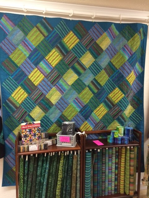 Aegean Weave quilt kit with book