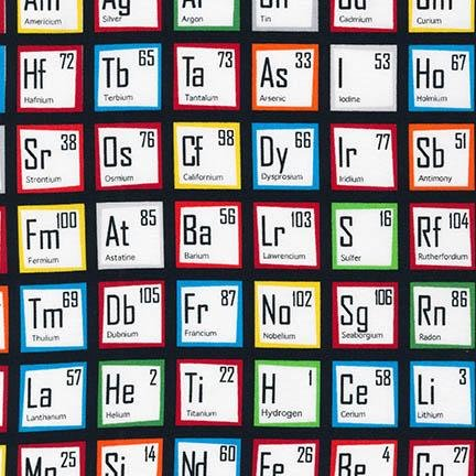 Multi Periodic Table AIB-14736-205 Science Fair by Illustration Ink