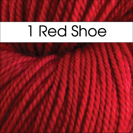 1 Red Shoe Cricket by Anzula DK Weight