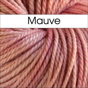 Mauve Cricket by Anzula DK Weight