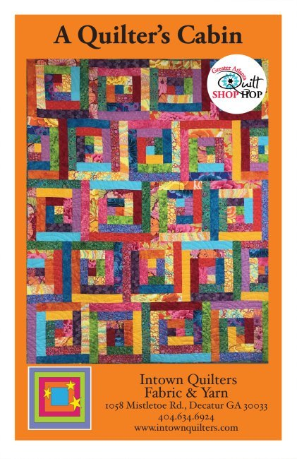 A Quilter's Cabin PDF quilt pattern
