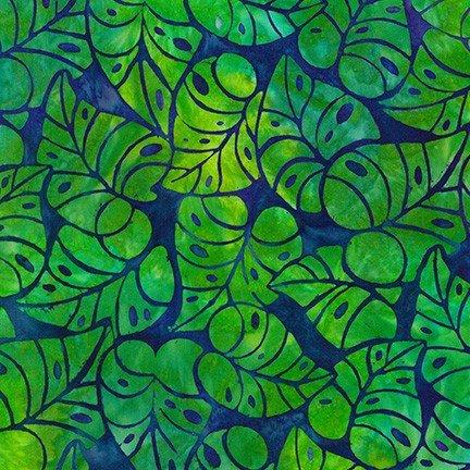 Island Green Batik AMD-17801-211 Totally Tropical