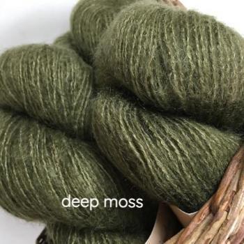 Deep Moss Affetto Seta by Hamilton Yarns