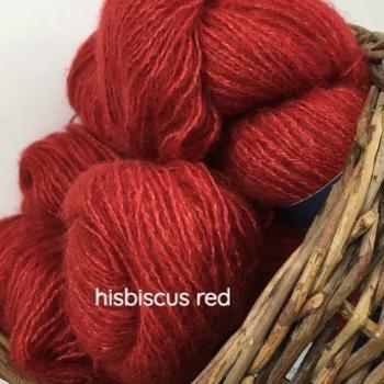 Hibiscus Red Affetto Seta by Hamilton Yarns