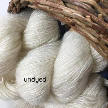 Undyed Affetto Seta by Hamilton Yarns