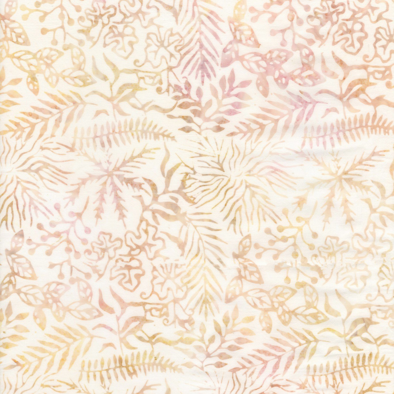 Antique Assorted Leaves Batik TONGA-B7840-ANTIQUE Tonga Batiks by Timeless Treasures