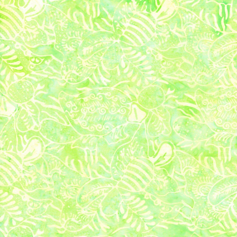 Dew Dandy Florals Batik TONGA-B7926-DEW Tonga Batiks by Timeless Treasures
