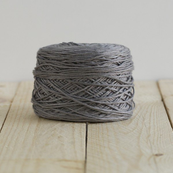 Gray Baby Prewound Yarn by Feza