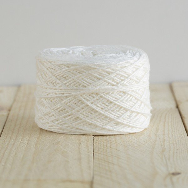 White Baby Prewound Yarn by Feza