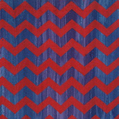 24.5 x WOF Lightening Red batik BKKF004.0REDX Kaffe Fassett Artisan