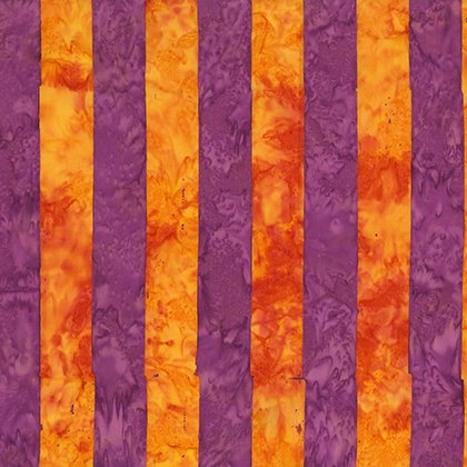 Orange Big Stripe batik BKKF005.0ORAN Kaffe Fassett Artisan