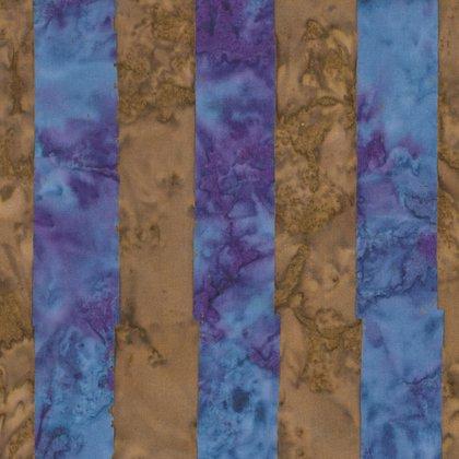 Kaffe Fassett Artisan Big Stripe Blue batik